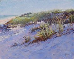 Dunes Shadows by Marsha Savage Pastel ~ 8 x 10
