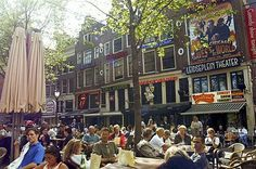Hostel leidseplein in Amsterdam. Take a look at this hotel if you have a small budget, find out if there are still any available rooms. Amsterdam Things To Do In, Bar Lounge, Hostel, Holland, Stuff To Do, Budgeting, Street View, Tours, Travel
