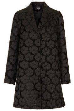 Daisy Lurex Swing Coat