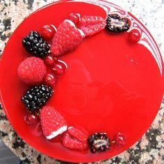 raspberry mirror glaze recipe