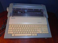 Vintage Brother Word Processor.  WP 3400 Word Processor