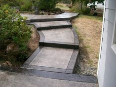 stamped concrete charcoal release | slate texture stamp concrete charcoal release dark border and light ...
