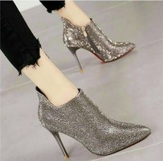 Heeled Boots, Bootie Boots, Shoe Boots, Shoes Heels, Stilettos, Cute Shoes, Me Too Shoes, Beautiful High Heels, Osho