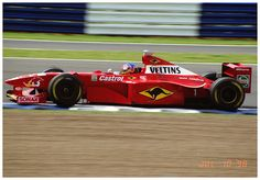 Jacques Villeneuve Williams Mecachrome FW20 F1. 1998 British GP Silverstone.