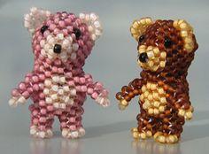 Free pattern 3D Teddy Bear, Sova Enterprises
