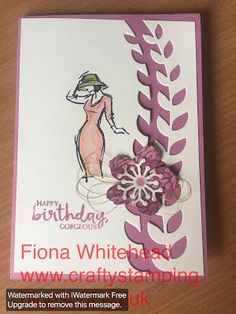 Stampin' Up! Beautiful You, Botanical Builder Framelits Simply Sketched Saturday Challenge blog hop Fiona Whitehead www.craftystamping.blogspot.com