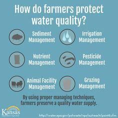 Advancements in technology and management practices help farmers reduce water pollution