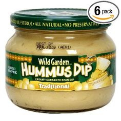 Wild Garden Hummus, Traditional, 13.40-Ounce (Pack of 6)