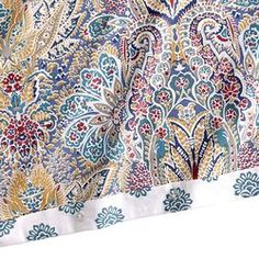 Multi Azore Paisley Duvet Cover - Full/Queen