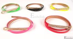 Php175 Appear Belt (Green, Black, Yellow, Pink and Red)