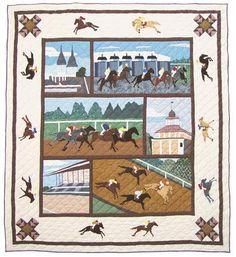 Horse Quilt - Kentucky Derby