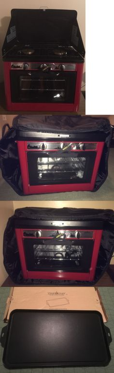 Camping Storage 181390: New Deluxe Outdoor Camping - Camp Chef Stove Oven With Carrying Bag And Griddle -> BUY IT NOW ONLY: $370 on eBay!