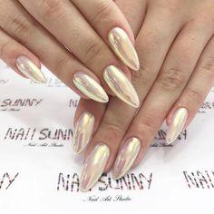 Chrome nails @nail_sunny @lalitacoraje #lalitacoraje