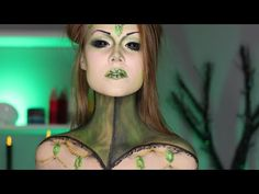 Emerald Queen   Oz Inspired Makeup Tutorial - YouTube