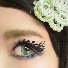 """Imagination is more impotant than knowledge.""  --kawaii matsuge*SPLISH SPLASH*Paper false eyelashes. --かわいいまつげ*水飛沫*紙製つけまつげ"