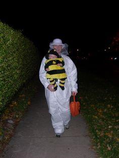 Bee and beekeeper!