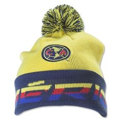 a44a70e26fe3d Details about club America Beanie Reversible Skull Cap Hat Agulias del  America FMF Mexico