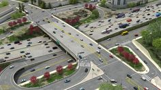 """What kind of software products do engineers and planners use to create realistic renderings of roadway construction like the one below? Are there mere """"artist renderings"""" or accurately scaled and rendered on top of CAD blueprints? - Quora"""