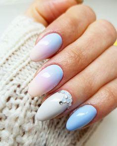Call Me a Unicorn + Rose Quartz + Ibiza Chill by Indigo Educator Renata Mastalska, Bielsko-Biała #nails #nail #nailsart #indigonails #indigo #hotnails #summernails #springnails  #omgnails #amazingnails #pastelnails #miaminails #miami #nataliasiwiec #ombrenails #ombre #callmeunicorn