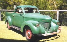Holden body1938? Willys coupe ute.