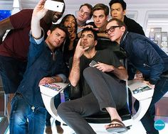 The biggest group of weirdo's in the history of weirdo's. I'd like to see how that selfie turned out.