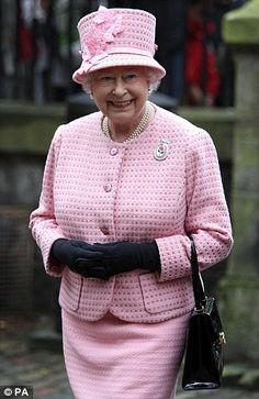 Queen Elizabeth II in a pink outfit is preparing for a historic visit to the Vatican to meet Pope Francis. The royal visit is expected in April, shortly before the Queen's birthday, and she will be accompanied by Prince Philip,