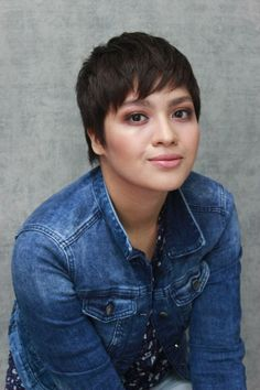 Jane Oineza rocks her new pixie cut Extreme Hair, Pixie Styles, Hair Transformation, Pixie Cut, Short Girls, Chelsea, Rocks, Celebs, Pixie Buzz Cut