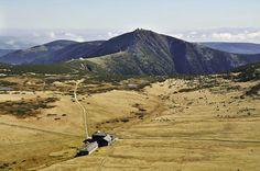 Nádherná příroda krkonošského národního park.