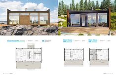 Prefab Modular Homes, Prefab Cabins, Tiny Cabins, Compact House, Micro House, Cheap Houses, Weekend House, Architecture Design, House Plans