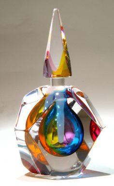 a gorgeous perfume bottle.