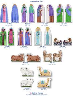 Bettieray needlepoint nativity