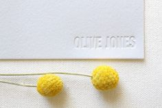 This personalized letterpress stationery will be useful for years to come.