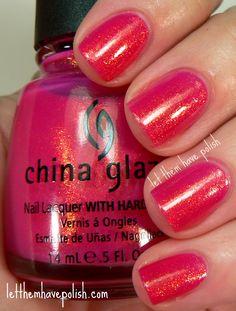China Glaze Strawberry Fields (via Let Them Have Polish)