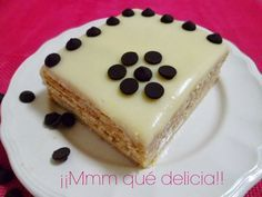 ¡¡Mmm qué delicia!!: TARTA DE GALLETAS Y CHOCOLATE BLANCO