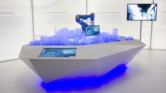 Siemens Worldwide–Interactive Exhibits, Roadshow  Analogue and digital Siemens technologies are present in every area of life. ...