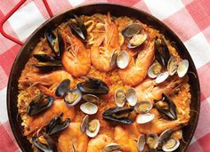 Paella Shrimp Recipes