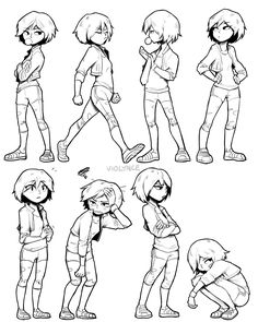 best ideas for drawing sketches boy character design animation Character Design Animation, Character Design References, Character Drawing, Female Drawing, Boy Character, Drawing Reference Poses, Drawing Skills, Body Reference, Character Reference