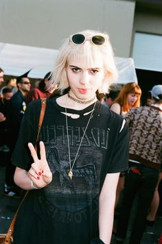 Julia Cumming of Sunflower Bean