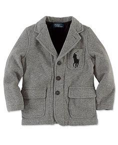 2343e752b2b5 This blazer is perfect for the fall! Ralph Lauren Kids Blazer. Toddler Boy  Fashion