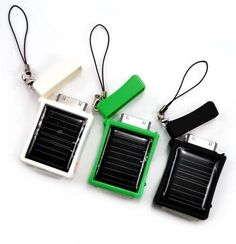 Solar Battery Charger for iPhone/iPod