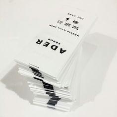ADER Package  #ader #adererror #fashion #minimal #wit #slogan #socks #black #design #designer #phone #photography