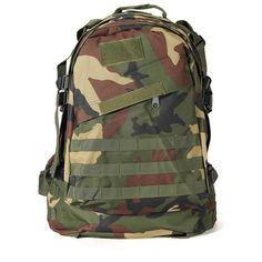 40L 6 Color 3D Outdoor Military Tactical Backpack Camping Hiking Bag