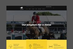 Semitri - Horse Riding HTML Template. HTML/CSS Themes