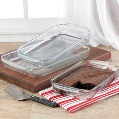 Libbey 55679 Bakeware 3-pc. Set
