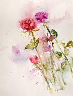 2 roses by vogesen.deviantart.com on @DeviantArt