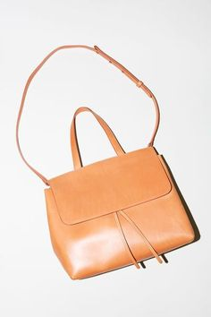Mansur Gavriel Lady Bag in Cammello with Antico