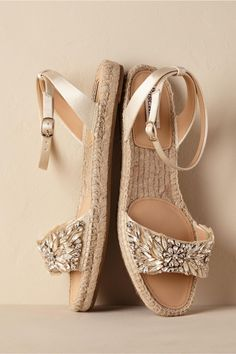 Satine Espadrilles Cream from BHLDN
