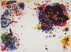 Speck - Sam Francis -  #abstract #painting #abstractart #art