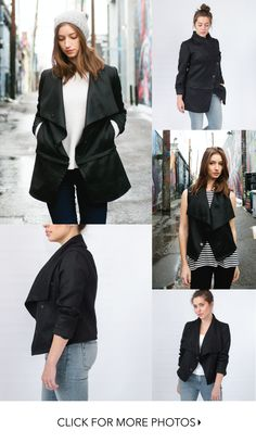 Made with luxury eco-fabrics in Denver, CO. Wear it as a jacket or a vest in 4+ different styles.