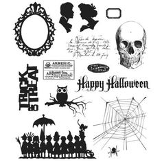 Tim Holtz Stampers Anonymous Mini Halloween 3 CMS-LG-140